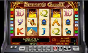 Pharaohs Gold III в клубе Вулкан